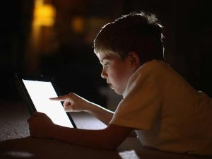 Screen time should be regulated.